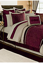 Corinthia 8-piece King Comforter Set 104-in. x 94-in. with Shams 20-in. x 36-in.