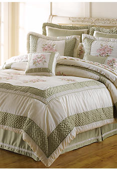 Home Accents Collette 8-Piece Luxury Bedding Collection