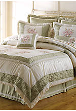 Collette Square Applique Pillow 18-in. x 18-in.