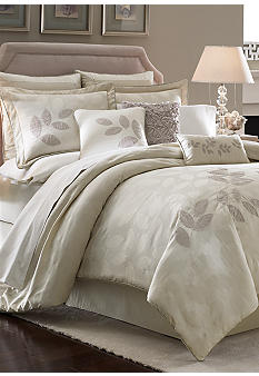 Lenox Platinum Leaf Bedding Collection