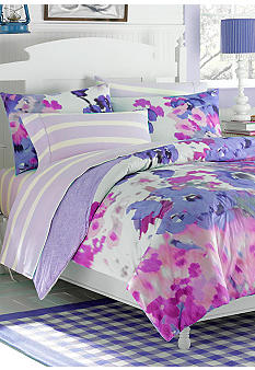 Waverly Garden Purple Room Twin Bed Sheets