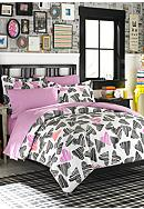 Teen Vogue Scribble Hearts Bedding Collection - Online Only