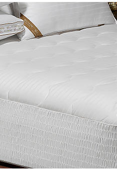 Biltmore For Your Home 400 Thread Count Damask Stripe Mattress Pad