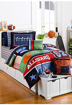 J Khaki Sports Bedding Collection