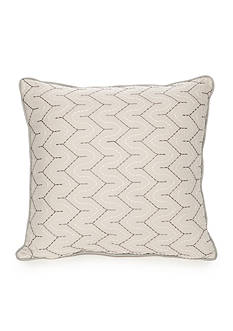 Home Accents Casual Living Bailey Embroidered Decorative Pillow