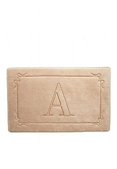 Home Accents Monogram Memory Foam Bath Rugs