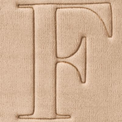 Home Accents and Decor: F Home Accents MONOGRAM MF MAT R