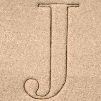Home Accents and Decor: J Home Accents MONOGRAM MF MAT R