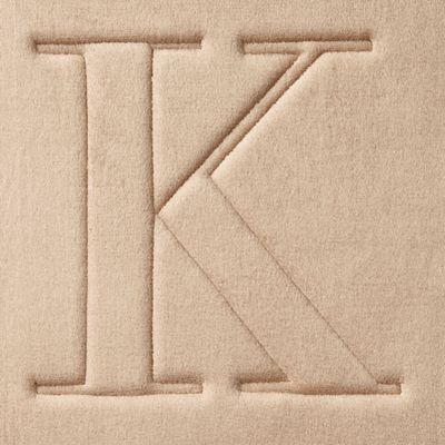 Home Accents and Decor: K Home Accents MONOGRAM MF MAT R