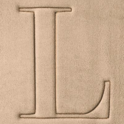 Home Accents and Decor: L Home Accents MONOGRAM MF MAT R