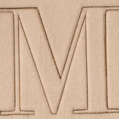 Home Accents Rug Collection: M Home Accents MONOGRAM MF MAT G