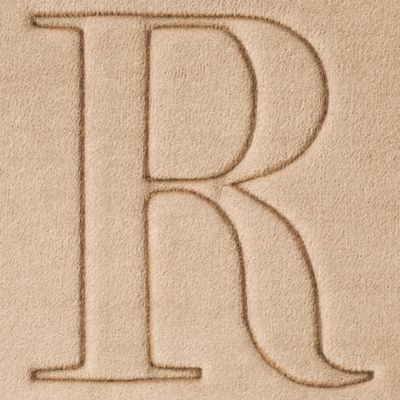 Home Accents and Decor: R Home Accents MONOGRAM MF MAT R