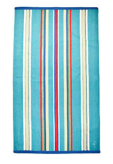Lauren Ralph Lauren Home Awning-Striped Turquoise Beach Towel