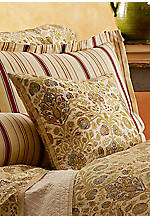 Tan Marrakesh Decorative Pillow- 18-in. x 18-in.