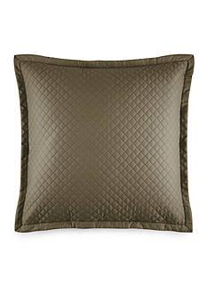 Ralph Lauren Wyatt Tweed Green Decorative Pillow