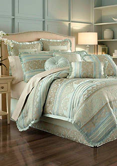 J Queen New York Marcello Ivory Queen Comforter Set