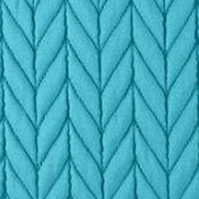 Solid Bedding: Turquoise J by J Queen New York Camden Banana Standard Quilted Sham