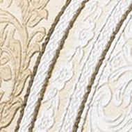 Elegant Bedding: Gold J Queen New York Marcello Ivory Euro Sham