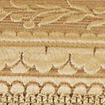 Elegant Bedding: Gold J Queen New York Napoleon Euro Sham