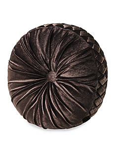 J Queen New York Paramount Tufted Round Pillow