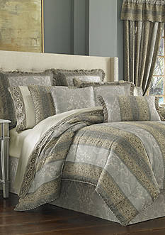 J Queen New York Hemmingway King Comforter Set