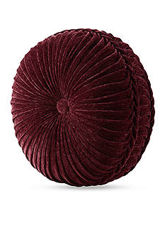 J Queen New York Dynasty Tufted Round Pillow