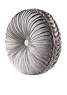 J Queen New York Alessandra Tufted Round Pillow