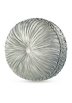 J Queen New York Romance Tufted Round Pillow