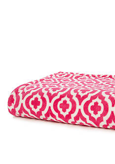Breast Cancer Awareness Geometric Throw