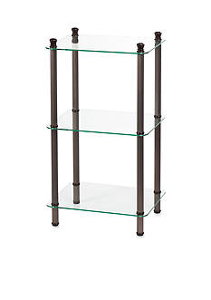 Creative Bath 3-Shelf Oil Rubbed Bronze Tower