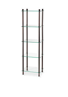 Creative Bath 5-Shelf Oil Rubbed Bronze Tower - Online Only