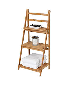 Creative Bath 3-Shelf Bamboo Folding Tower