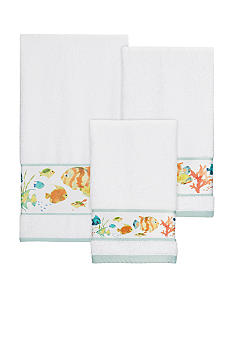 Creative Bath Rainbow Fish Towel Collection