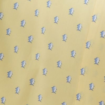 Low Thread Count Sheets: Yellow Southern Tide SKIPJACK TWIN XL SS