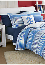 Vineyard Stripe King Comforter Set 108-in. x 96-in. with Shams 20-in. x 36-in.