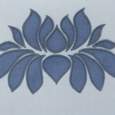Under The Canopy: Lavender Aura Under the Canopy Lotus Decorative Pillow