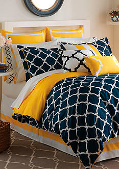 Jill Rosenwald Hampton Links Queen Comforter Set
