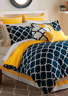 Jill Rosenwald Hampton Links King Comforter Set