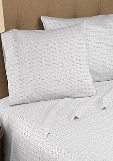Modern Living Dotted Line T300 Organic Cotton Full Sheet Set