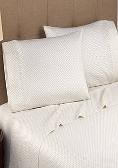 Modern Living Geo Cloud T300 Oganic Cotton Full Sheet Set