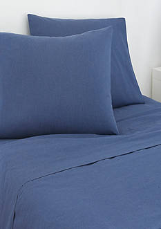 IZOD Izod Navy Cross Dyed Standard Pillowcase