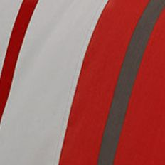 Izod: Red/Gray IZOD BEACON STRIPE VALANCE
