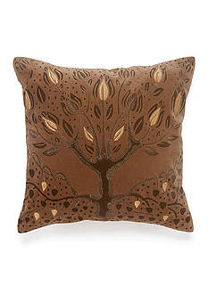BiniChic BINICHIC FOSCARI TREE OF LIFE DECORATIVE PILLOW