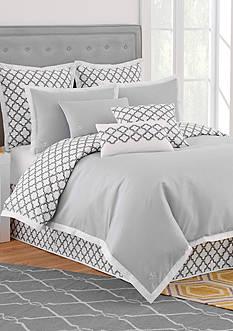 Jill Rosenwald Quatrefoil Comforter Set - King
