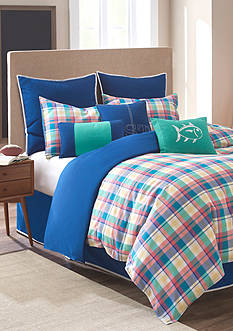 Southern Tide PREP SCHOOL PL TWIN COMFORTER SET