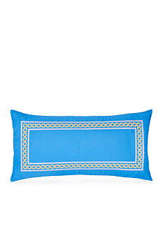 Southern Tide Sailgate Embroidered Border Pillow