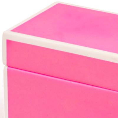 Bathroom Accessories: Pink Kassatex SOHO TRAY