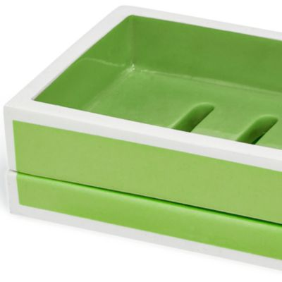 Bathroom Accessories: Green Kassatex SOHO TRAY