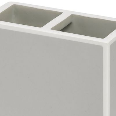 Bathroom Accessories: Grey Kassatex SOHO TRAY