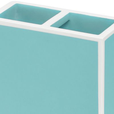 Bathroom Accessories: Blue Kassatex SOHO TRAY